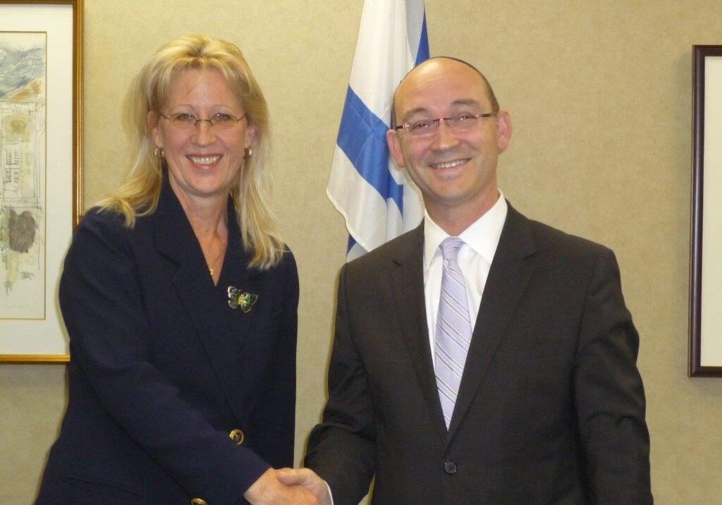 Caroline and Consul General